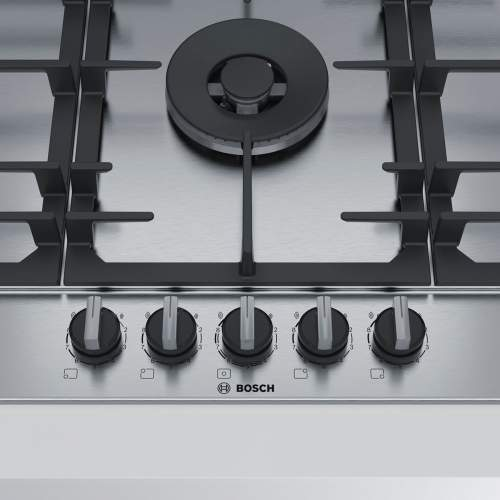 Bosch Serie 6 PCR9A5B90 90 cm Stainless Steel Gas Hob