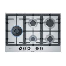 Bosch Serie 6 PCS7A5B90 75 cm Stainless Steel Gas Hob