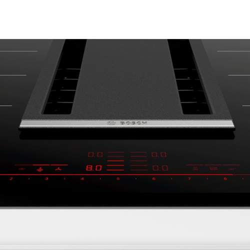 Bosch Serie 8 PXX875D34E 80cm Induction Hob with Integrated Ventilation System