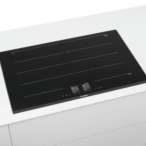 Bosch Serie 8 PXY875KW1E 80cm Black Induction Hob