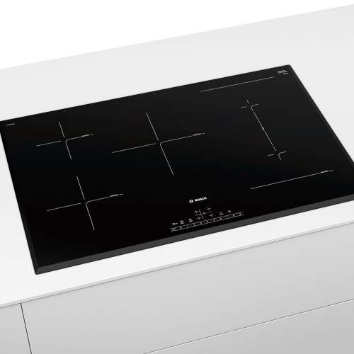 Bosch Serie 6  PVW851FB5E 80cm Black Induction Hob