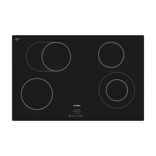 Bosch Serie 4 PKN811D17E 80cm Black Ceramic Hob