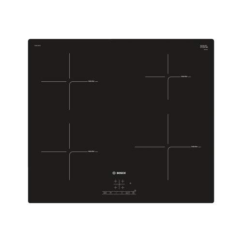 Bosch Serie 4 PUE611BF1B 60cm Black Induction Hob