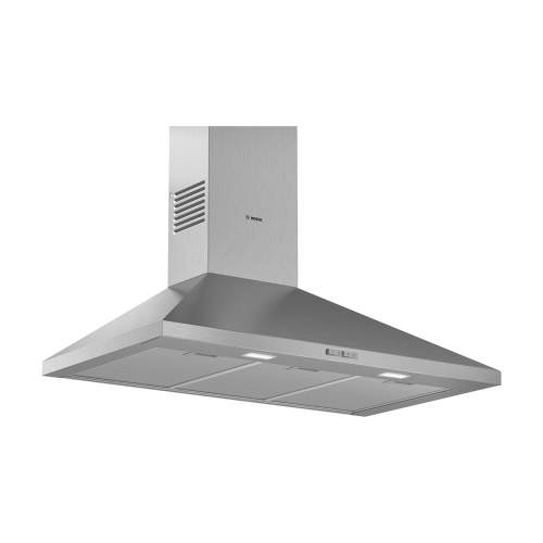Bosch Serie 2 DWP94BC50B 90cm Wall-Mounted Pyramid Cooker Hood