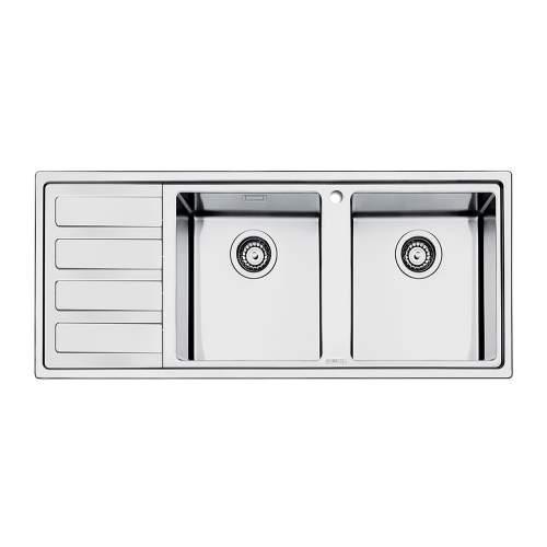 Smeg Mira LD116 Low Profile Inset 2.0 Bowl Sink