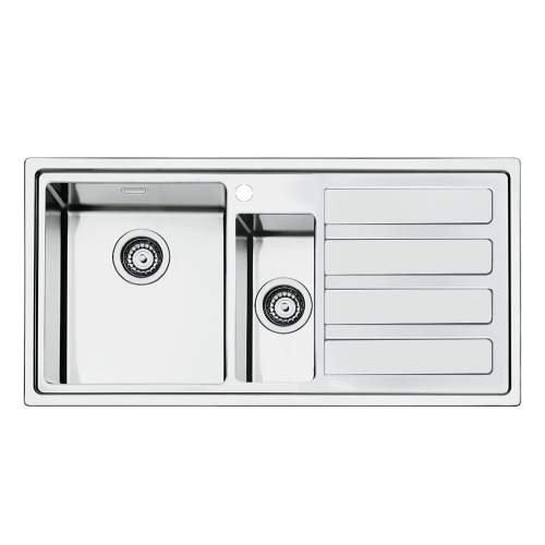 Smeg Mira LD102 Low Profile Inset 1.5 Bowl Sink