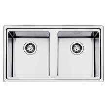 Smeg Mira LD862 Low Profile Inset Double Bowl Sink