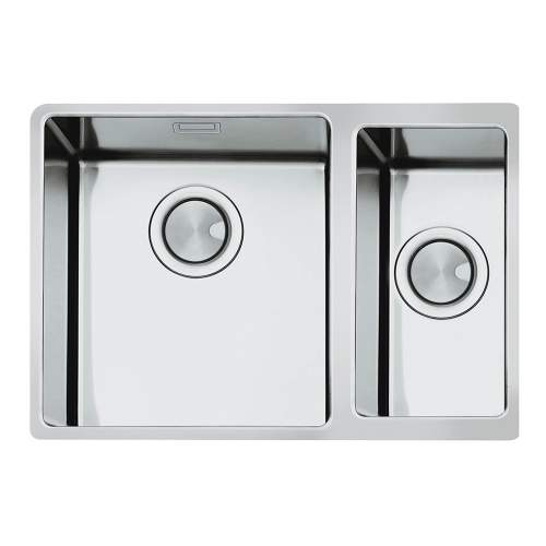 Smeg Mira VSTR3418-2 Undermount 1.5 Bowl Sink