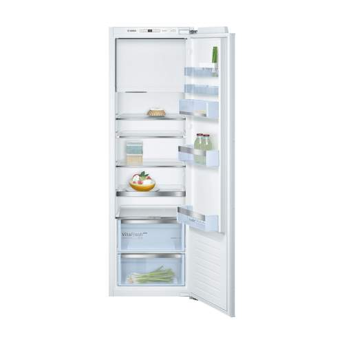Bosch Serie 6 KIL82AF30G Built-In Fridge with Freezer Section