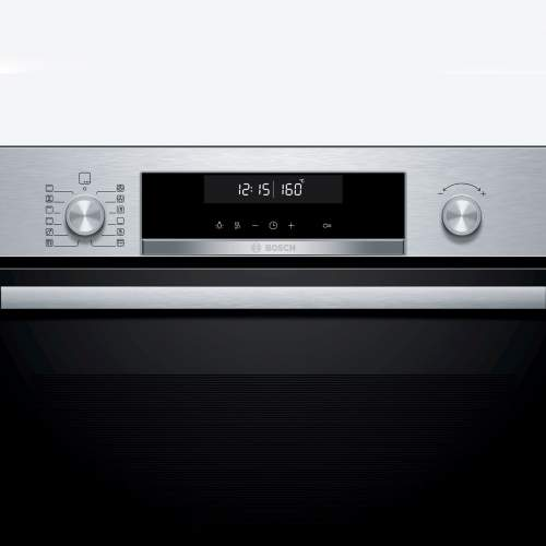 Bosch Serie 6 HBG5785S0B Stainless Steel Built-In Pyrolytic Single Oven