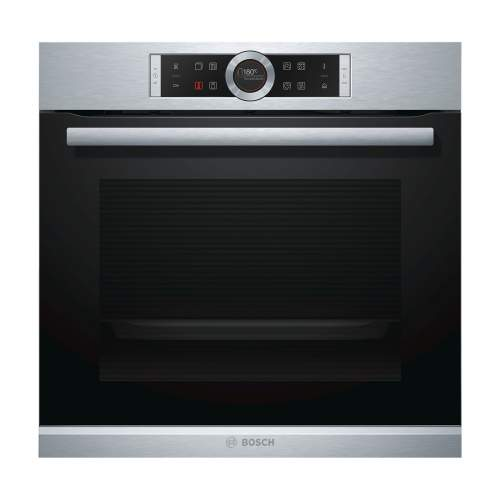 Bosch Serie 8 HRG675BS1B Pyrolytic Oven with Added Steam Function