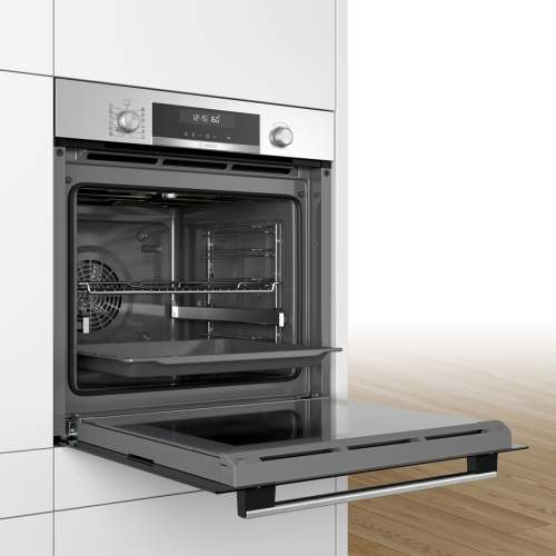 Bosch Serie 6 HBG5585S0B Stainless Steel Built-In Single Oven