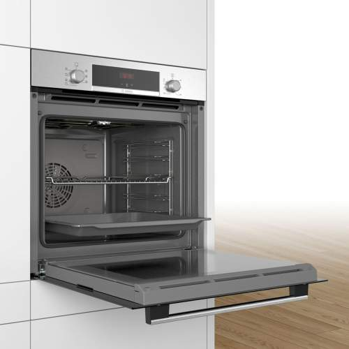Bosch Serie 4 HBS534BS0B Stainless Steel Built-In Single Oven