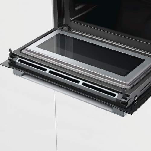 Bosch Serie 8 CMG656BS6B Built-In Compact Combination Oven