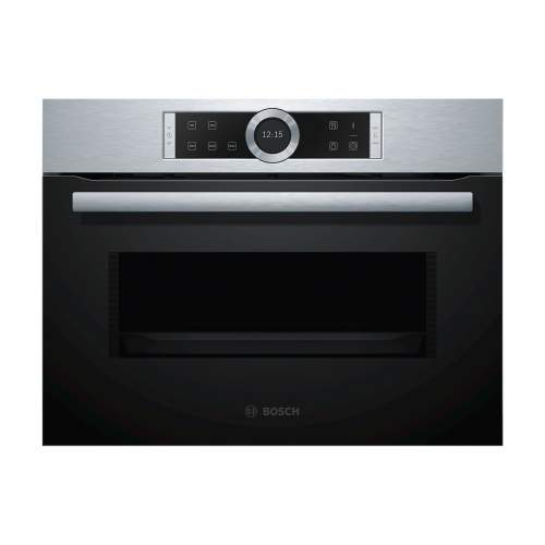 Bosch Serie 8 CFA634GS1B Stainless Steel Built-In Microwave Oven