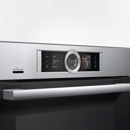 Bosch Serie 8 CSG656BS7B Built-In Compact Oven with Steam Function