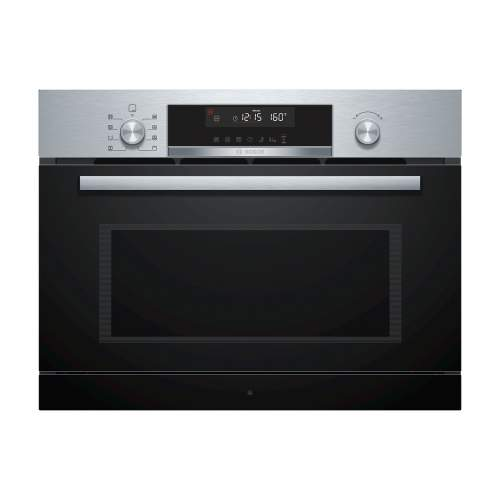 Bosch Serie 6 CPA565GS0B Built-In Compact Microwave with Steam Function