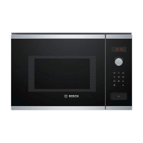 Bosch Serie 4 BFL553MS0B 38cm Stainless Steel Built-In Microwave Oven