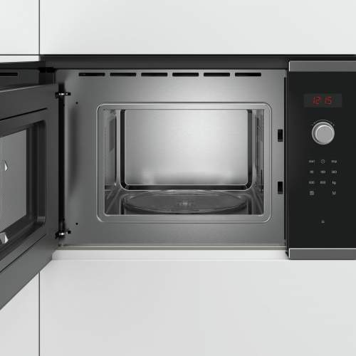 Bosch Serie 4 BFL523MS0B 38cm Stainless Steel Built-In Microwave Oven