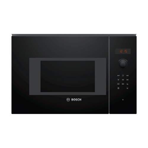 Bosch Serie 4 BFL523MB0B 38cm Black Built-In Microwave Oven