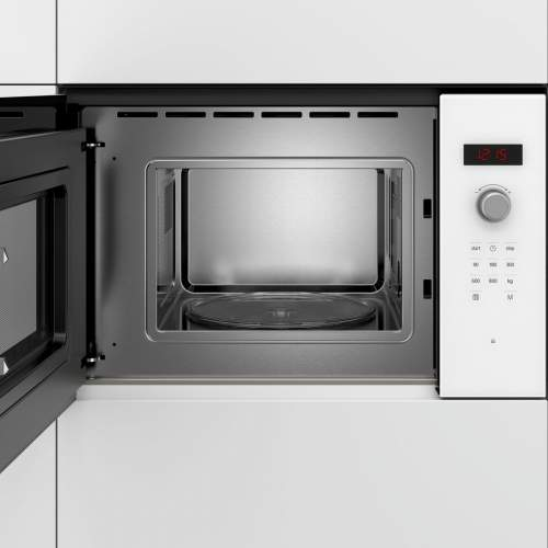 Bosch Serie 4 BFL523MW0B 38cm White Built-In Microwave Oven