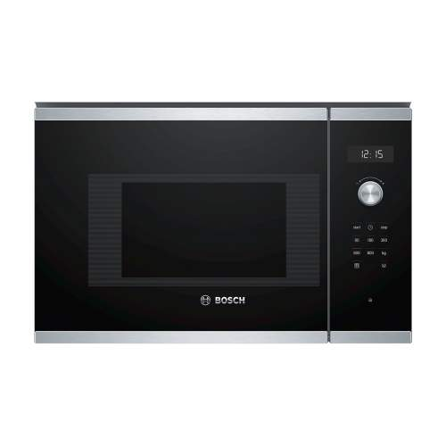 Bosch Serie 6 BFL524MS0B 38cm Stainless Steel Built-In Microwave Oven