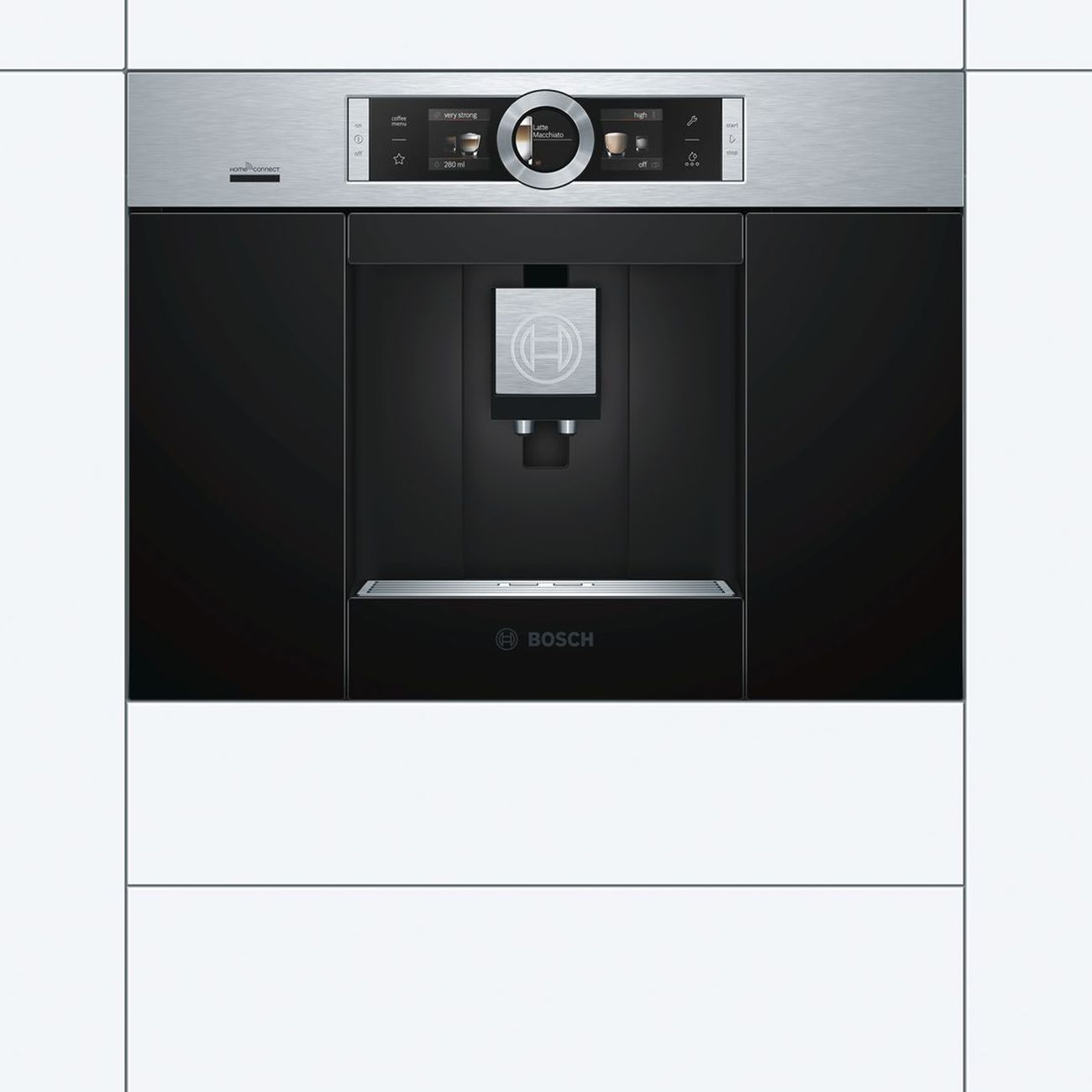 Bosch Serie 8 CTL636ES6 Built In Fully Automatic Coffee Machine