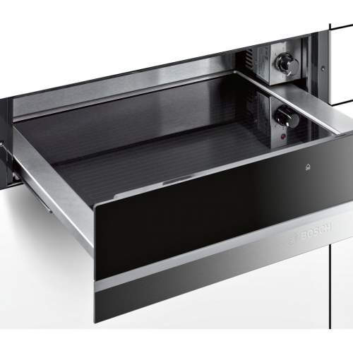 Bosch Serie 8 BIC630NS1B 14cm Stainless Steel Built-In Warming Drawer