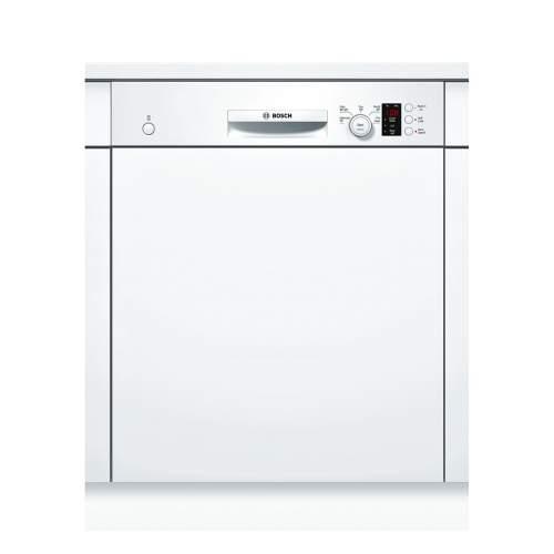 Bosch Serie 4 SMI50C12GB 60cm White Semi-Integrated Dishwasher
