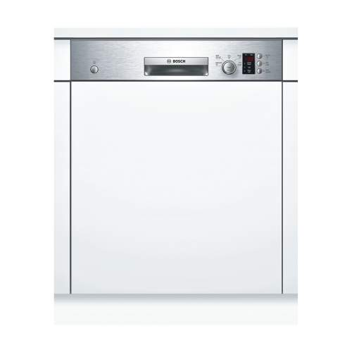 Bosch Serie 4 SMI50C15GB 60cm Stainless Steel Semi-Integrated Dishwasher