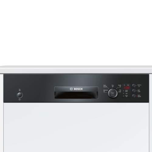 Bosch Serie 4 SMI50C16GB 60cm Black Semi-Integrated Dishwasher
