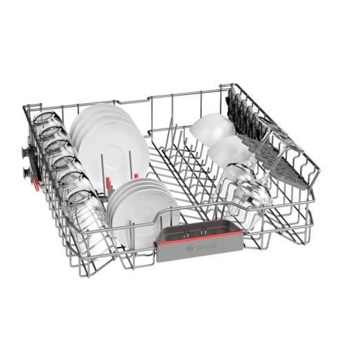 Bosch Serie 6 SMI68MS06G 60cm Stainless Steel Semi-Integrated Dishwasher