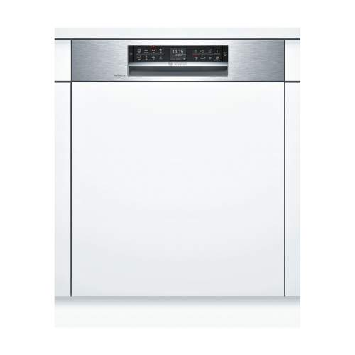 Bosch Serie 6 SMI68TS06E 60cm Stainless Steel Semi-Integrated Dishwasher
