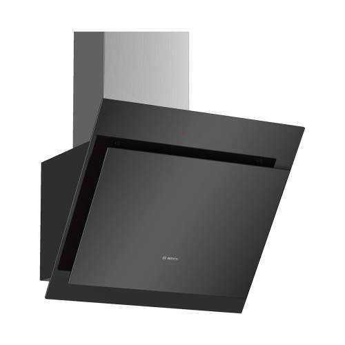 Bosch Serie 4 DWK67CM60B 60cm Wall-Mounted Glass Cooker Hood