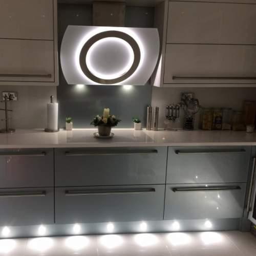 Luxair Luna 90cm Angled Designer Cooker Hood