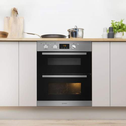 Indesit Aria IDU 6340 IX Stainless Steel Electric Built-under Oven