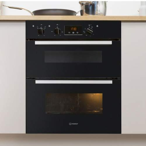 Indesit Aria IDU 6340 BL Black Electric Built-under Oven