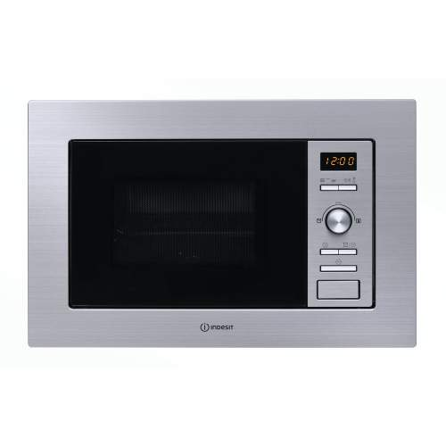 Indesit MWI 122.2 X Built in 800W Microwave Oven with Grill