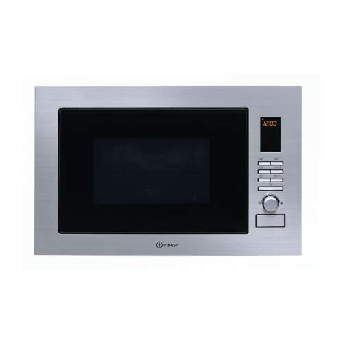 Indesit MWI 222.2 X Stainless Steel Built in 900W Microwave Oven with Grill