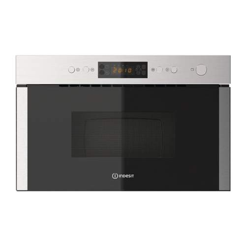 Indesit Aria MWI 5213 IX 750W Built-in Microwave with Grill