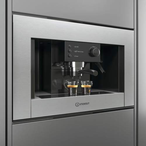Indesit Aria CMI 5038 IX Stainless Steel Built-in Coffee Machine