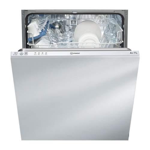 Indesit DIF 04B1 60cm Ecotime Integrated Dishwasher