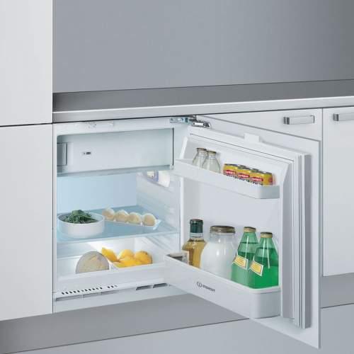 Indesit IFA1 Built Under Larder Fridge with Ice Box