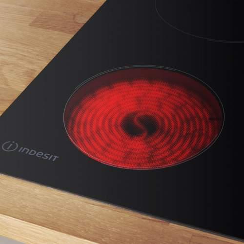Indesit AAR160C 60cm Black Ceramic Hob