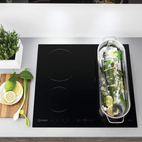 Indesit Aria VID641 B C 60cm Induction Hob with Dual Zone
