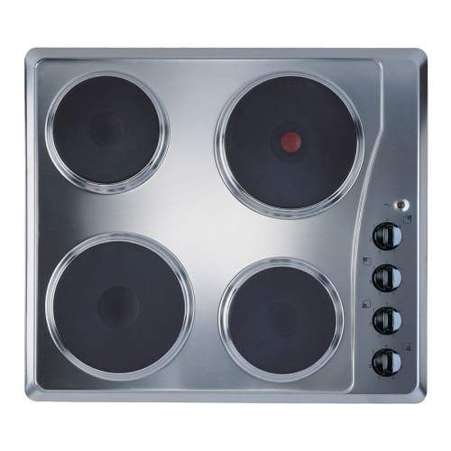 Indesit TI60X 60cm Stainless Steel Sealed Plate Hob