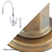 Perrin and Rowe OBERON 4866 Kitchen Tap with Rinse