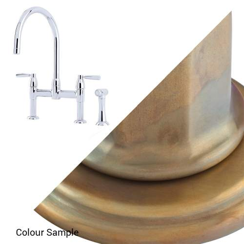 Perrin and Rowe IO 4273 Kitchen Tap with Rinse
