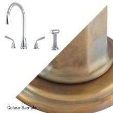 Perrin and Rowe TITAN 4876 Kitchen Tap with Rinse