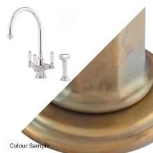 PHOENICIAN Mixer Tap w Lever Handles & Rinse